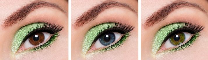 zeleno ličenje oči