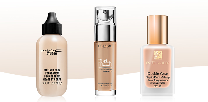 Mac-Loreal-Esteelauder-foundation