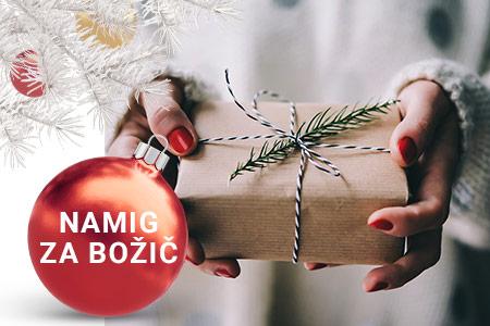 NAMIG ZA BOŽIČ: Parfum pod božično drevesce