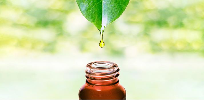 přírodní oleje