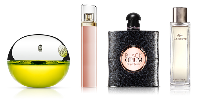 Black Opium DKNY Be Delicious Hugo Boss Ma Vie Cerruti 1881