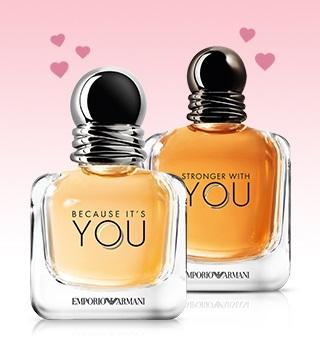 Férfi és női parfüm duó