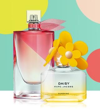 -15 % sur le TOP 15 des parfums d'été