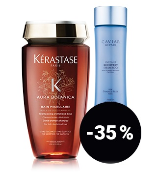 up to 35% off hair care products