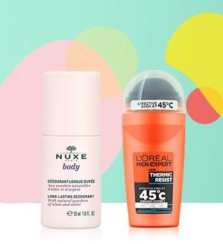 déodorants-15 % sur le TOP 15 du maquillage waterproof