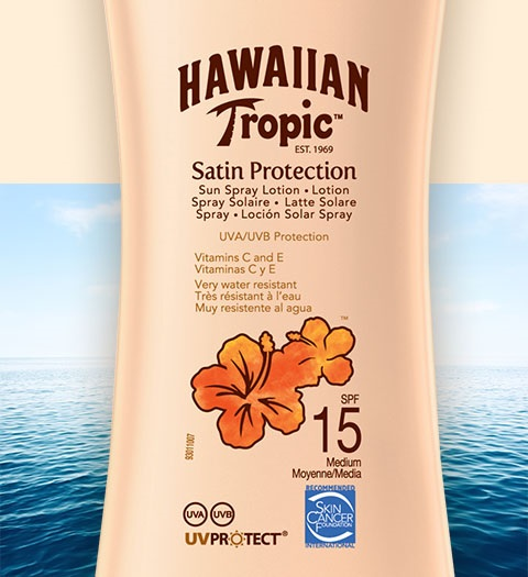 Sprays bronzeadores Hawaiian Tropic