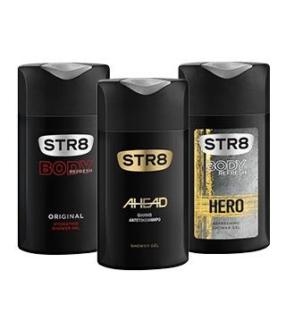 STR8 Sprchové gély