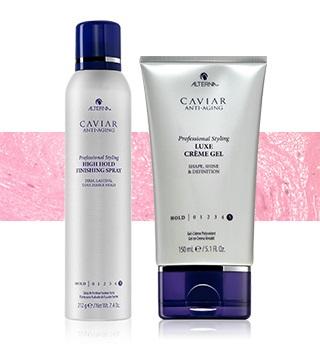 Alterna - für die perfekte Fixierung und Styling der Frisur