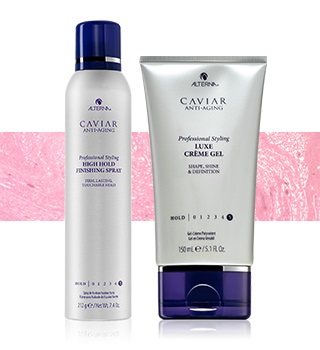 Alterna - For perfect fixation and hairstyle