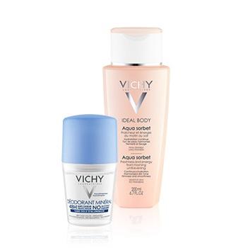 Догляд за тілом від Vichy