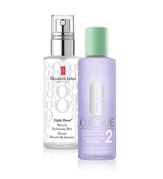 Tonisierung und Hautberuhigung