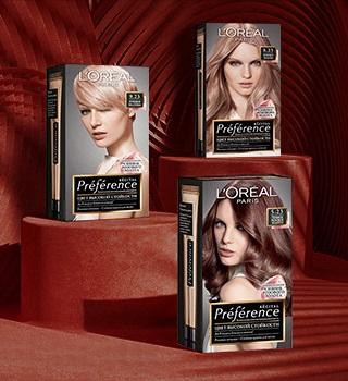 Colorations cheveux L'Oréal Paris