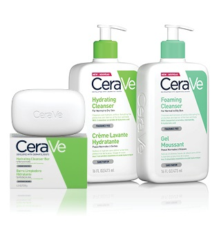 Cleansing and hygiene CeraVe