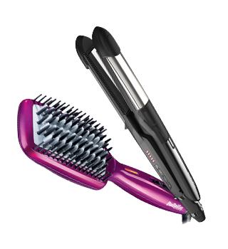 BaByliss - glačala za kosu i četke za ravnanje kose