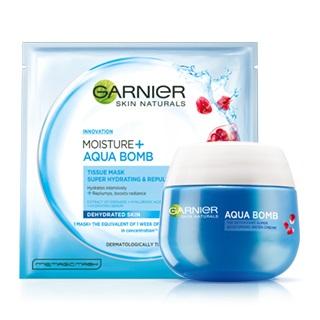 Garnier produtos para hidratação da pele