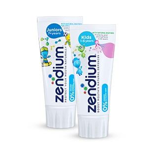 Zendium - Otroci