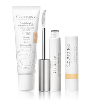 Maquillage des peaux sensibles Avène