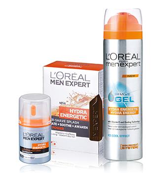 L'Oréal Paris pentru barbati
