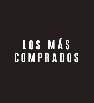 LOS MÁS COMPRADOS