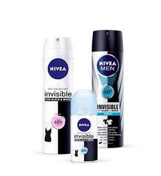 Nivea deodorant a antiperspirant