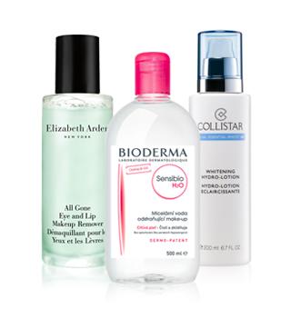 Entfernen von Make-up und Reinigung der Haut