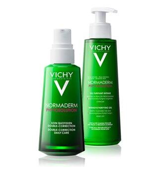 Vichy verzorging tegen acne