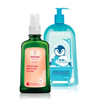 Cosmetice corporale pentru copii