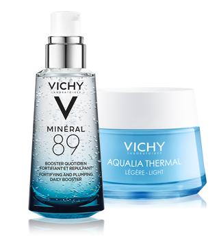 Vichy hydratace
