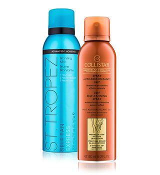 Self-tanning and bronzers