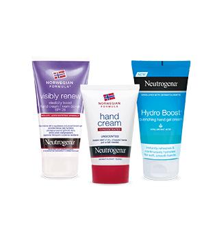 Neutrogena produtos para cuidado de mãos