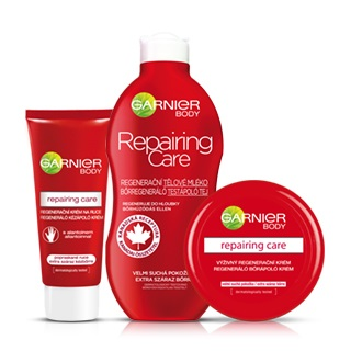 Garnier produtos para cuidados de corpo