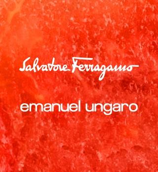 Salvatore Ferragamo a Emanuel Ungaro nad 999 Kč
