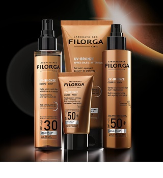 Bescherming tegen de zon Filorga