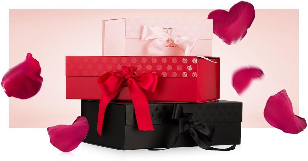подарочная упаковка на день святого валентина