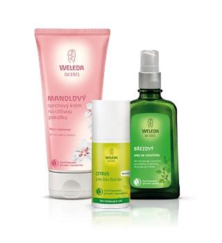 Weleda body care and cosmetics