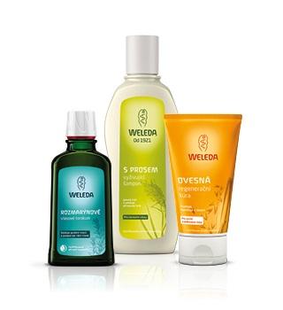 Weleda shampoo and haircare
