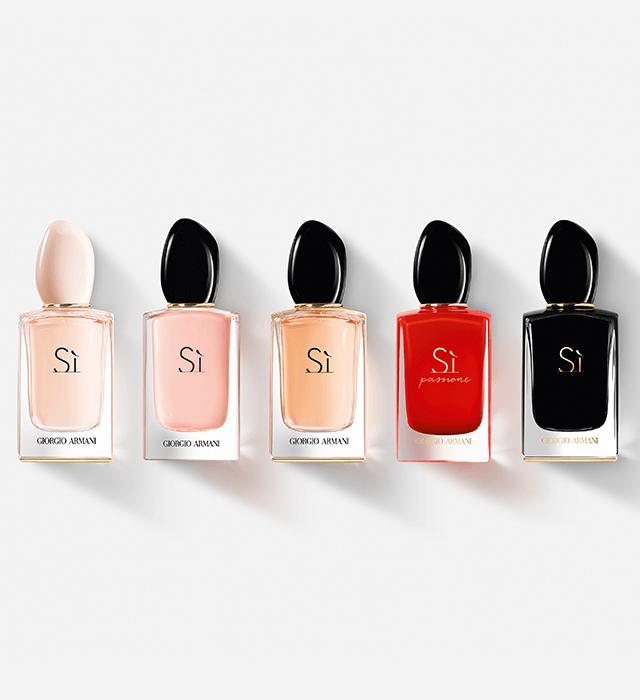 Armani parfémy za žene