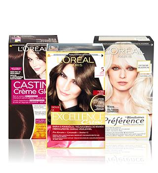L'Oréal barvy na vlasy