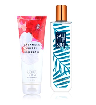 Bath and Body Works PERFUMES E CUIDADOS DE CORPO PERFUMADOS