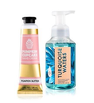 gels pour les mains Bath and Body works et crèmes
