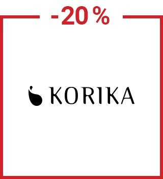 -20 % sur Korika avec le code promo spring20be