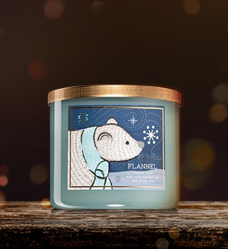 Winter candles and home fragrances