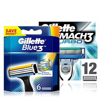 Náhradní hlavice Gillette, Gillette Mach 3, Fusion