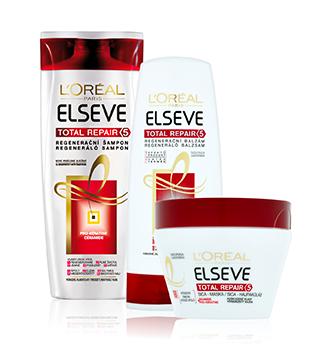 L'Oréal šampony a kondicionéry