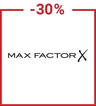 -30 % su Max Factor con il codice spring30it con un acquisto superiore a 12 €