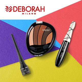 Deborah Milano maquillaje de ojos