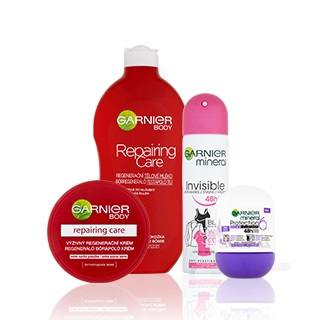 Garnier BODY CARE AND DEODORANTS