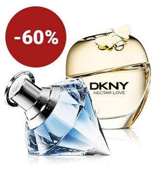 Până la 60% reducere la parfumuri pentru femei