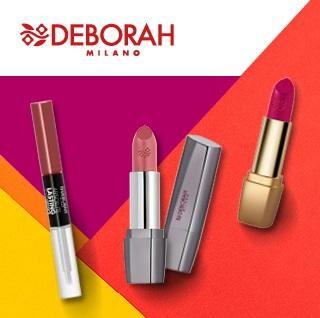 Deborah Milano lipstick and gloss