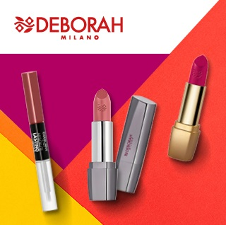 Rouges à lèvres et brillants à lèvres Deborah Milano